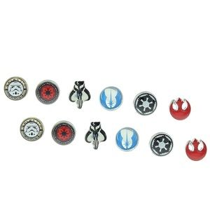 Star Wars Logos 6 Pair Earring Pack